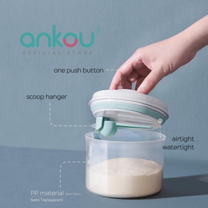Ankou Air Tight PP Container 800ml (Circle)